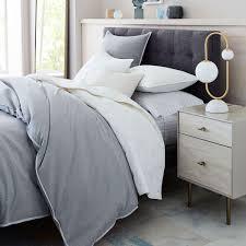 tufted upholstered bed. Grid-Tufted Upholstered Tapered Leg Bed Tufted