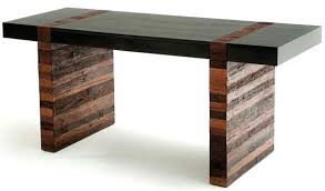 Modern Rustic Office Desk Contemporary Wood Urban