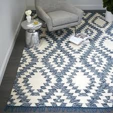 tile wool kilim rug chenille midnight west elm aquamarine