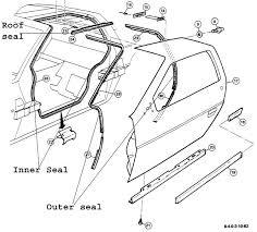 Auto Parts Auto Parts Body Frame Parts Door Seal Bytes Door Pieces