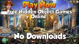 Is the flash player having problems? Hidden Object Games Online No Download Required