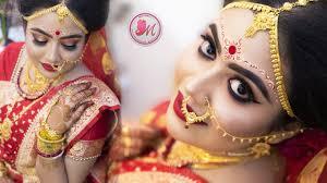 traditional bengali bridal makeup step by step mayuri sinha sarkar