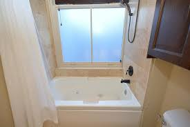 jetted bathtub shower combo