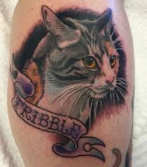 w has her cats ashes mixed ink for a special tattoo tattoo of tribble