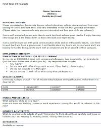 first job resume template template design doc 12751650 resume how to write a good resume for your first job