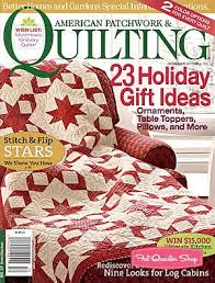 Magazine Better Homes and Gardens American Patchwork & Quilting ... & Magazine Better Homes and Gardens American Patchwork & Quilting Magazine  Issue 119 December 2012 Adamdwight.com