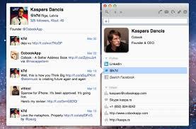 Cobook, A Simple & Smart Address Book App for Mac