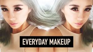 everyday makeup tutorial for beginners makeup only 5 s used wengie you