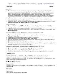 Sample Resume Example 3 It Resume Software Development Resume