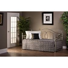 Milano Bedroom Furniture Hillsdale Furniture 11176 Milano Daybed In Antique Pewter