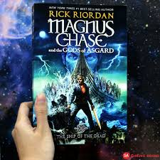 gunung agung on twitter new arrival magnus chase and the s of asgard book 3 the ship of the dead by rick riordan gununung