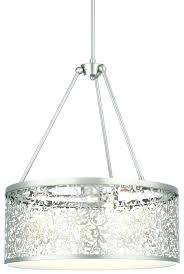 decoration furniture brushed nickel drum chandelier amazing sawyer pendant light at in 1 from shade