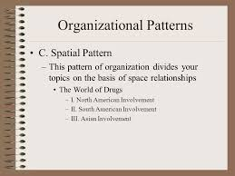 Spatial Organizational Pattern Awesome Writing The Research Paper Organization Plan B Every Good Plan A