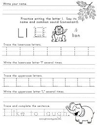 Letter-L-Worksheet-1 | Letters of the Alphabet | Pinterest ...
