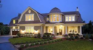 shingle style house plans. Plan W20095GA: Spectacular Home For The Large Family Shingle Style House Plans O