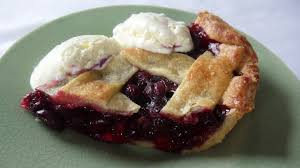 blueberry pie with ice cream. Wonderful With We Served A Slice Of Pie With Quenelles Vanilla Bean Icecream From The  Famous Local Hawkeu0027s Bay Icecream Makers Rush Munrou0027s Established In 1926 In Blueberry Pie With Ice Cream