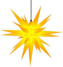 Herrnhuter Sterne A7 Gelb 68 Cm