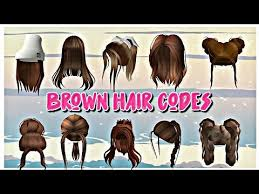 Hair codes for roblox | chloe paige ♡ ↠open me ↞ thanks for watching i hope you enjoyed ☆subscriber count: Id Code For Brown Scene Hair Roblox Zonealarm Results