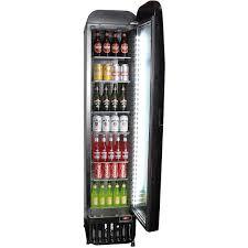Kitchen: Glass Door Refrigerator To Provide Colder Temperatures ...