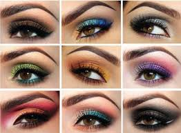 how to apply eye shadow for dark brown eyes