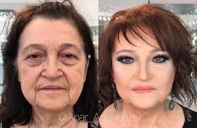 a makeup artist has shared his clients crazy makeup transformation photos