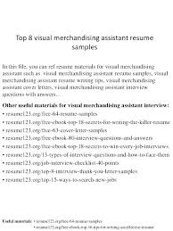 Merchandising Assistant Cover Letter Fashion Merchandising Resume Classy Visual Merchandiser Resume