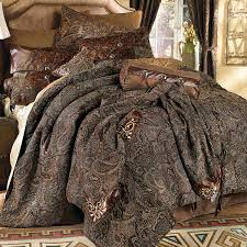 western bedding king size western paisley beaumont bed set lone star western decor