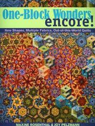 Quilting books   A1 Craft and Quilting, Australia & One Block Wonders Encore - Maxine Rosenthal and Joy Pelzmann Adamdwight.com