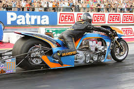 gulf oil drag racing see red in finland dragbike news