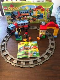 duplo my first train set track system my first train set electric motor engine plete conns