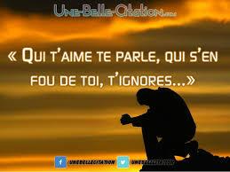 Qui Taime Te Parle Qui Sen Fou De Toi Tignores Citation Et