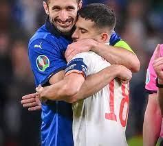 جورجيو كيليني مدافع إيطاليا يعترف باستخدامه لعنة كيركوتشو في نهائي اليورو  أمام إنجلترا