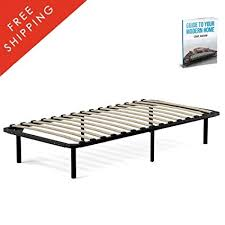 Amazon.com: Platform Bed Frame Twin Mattress Size Modern Standard ...