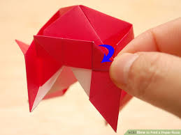 Chart Paper Flower Making How To Fold A Paper Rose With Pictures Wikihow