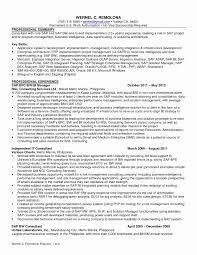 Sap Bi Sample Resume For 2 Years Experience Sap Sd Consultant Resume Sample Unique Sap Bi Sample Resume for 60 2