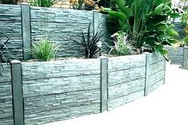 modern cinder block retaining wall modern cinder block retaining wall retaining wall designs concrete garden retaining