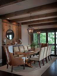 cozy rustic dining room designs