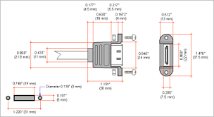 frontx bulkhead esata female serial ata panel mount esata connector cut out dimensions