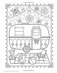 Camper Coloring Pages At Getcoloringscom Free Printable Colorings
