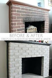 fireplace renovation ideas before after fireplace remodel before and after fireplace paint colors gray brick fireplace