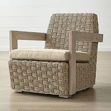 coronado seagr chair with cushion