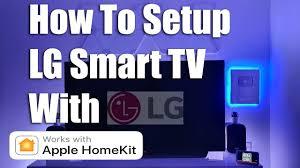 LG Smart TV How to Setup With Apple HomeKit - YouTube