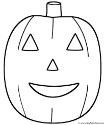 Small Picture PumpkinJack o Lantern Coloring Page Fruits and Vegetables