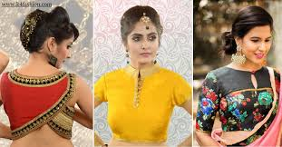 Saree Blouse Designs Front And Back 2017 27 Latest Saree Blouse Designs Collection For 2020 K4 Fashion