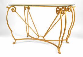 Iron Center Table Design French Gilt Iron Center Table