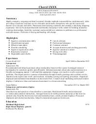 Sales Manager Resume Example  Great American R V     Kent  Washington
