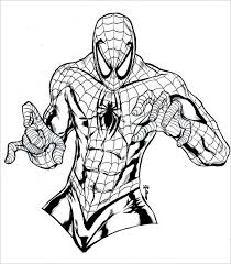 Spiderman coloring pages for kids. 30 Spiderman Colouring Pages Printable Colouring Pages Free Premium Templates