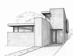 architectural drawings of houses. Cool Drawings Of Houses Awesome Modern House Architectural Drawing At Home In The