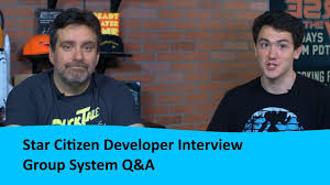 Star Citizen Developer Interview Group System Q A Youtube