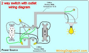 2 way light switch wiring diagram house electrical, household home light switch wiring diagram 2 way light switch wiring diagram house electrical